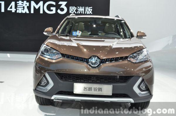 MG GS, вид спереди