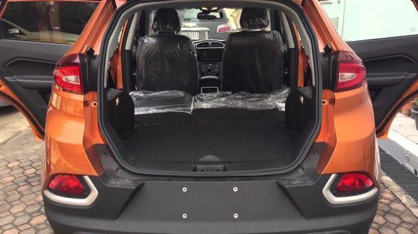 MG GS, багажник