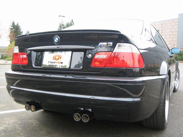Выхлопная система BMW M3 E46