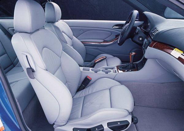 Интерьер BMW M3 E46