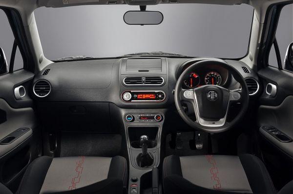 MG 3, руль и панель управления