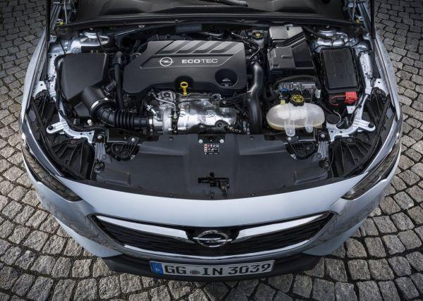 Двигатель EcoTec на Opel Insignia Grand Sport 2017