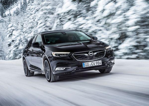 Светодиодная оптика нового Opel Insignia