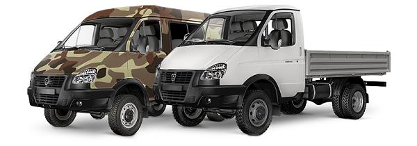 Автомобили ГАЗ 4WD