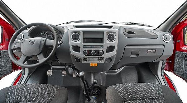 ГАЗ 4WD, руль и панель управления