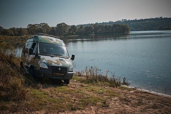 ГАЗ 4WD, вид спереди