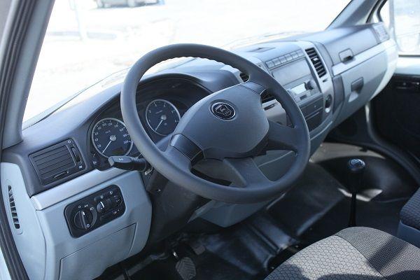 ГАЗ Соболь Бизнес, руль и панель управления