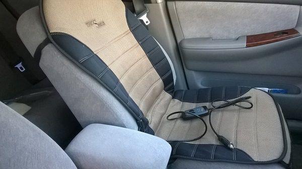 Как выбрать накидку на сиденье автомобиля с подогревом : отзывы и видео-обзор