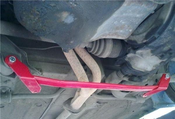 Растяжка под авто на ВАЗ 2109