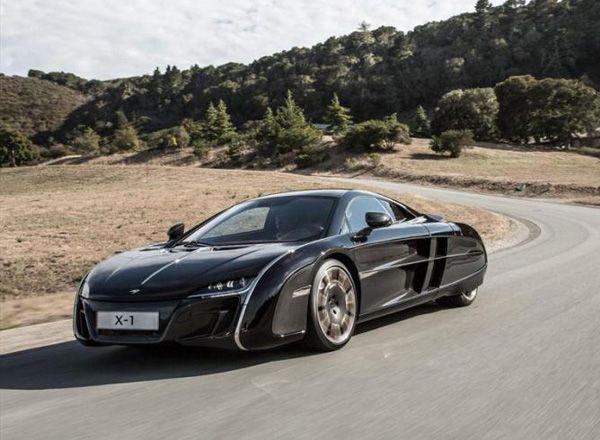 Уникальный спорткар McLaren X-1