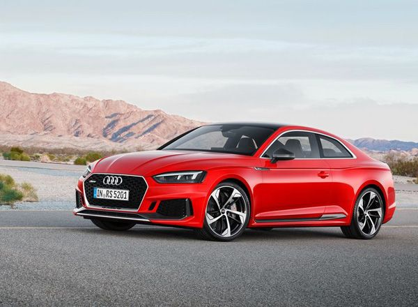 Новый купе Audi RS 5