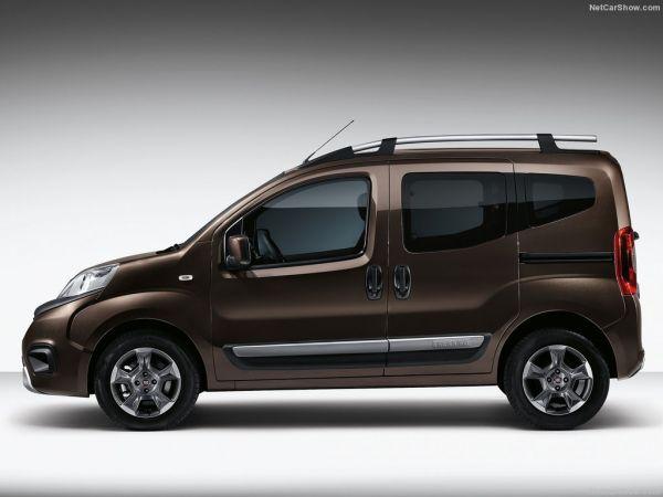 Fiat Qubo 2017, вид сбоку слева