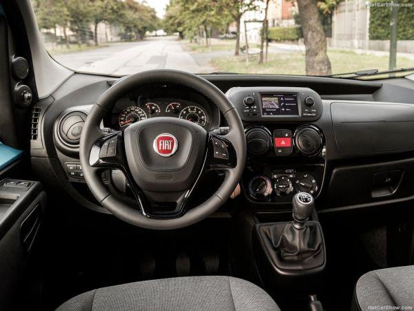 Qubo 2017 года, руль и панель управления