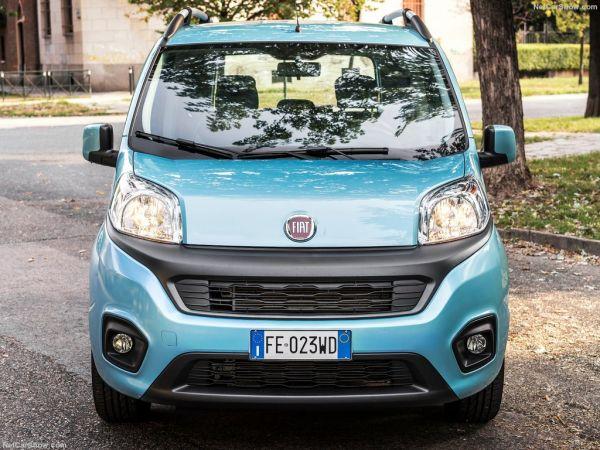 Fiat Qubo 2017, вид спереди