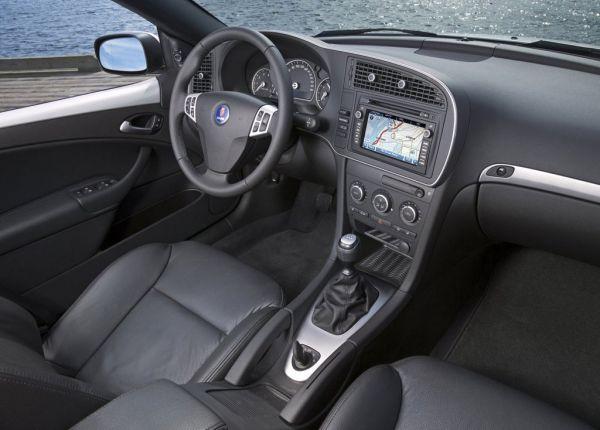 Интерьер Saab 9-3