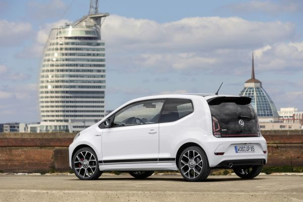 Volkswagen Up GTI, вид сзади