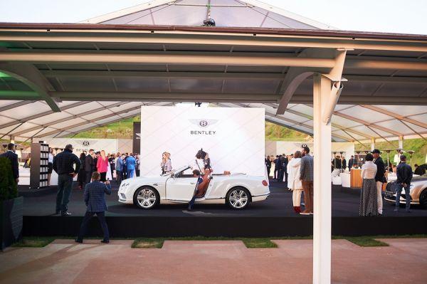 Официально открытие дилерского центра Bentley в Украине