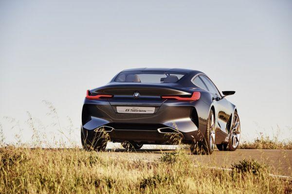 Современный стиль и дизайн BMW 8-Series