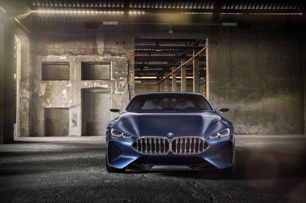 Новая решетка BMW 8-Series