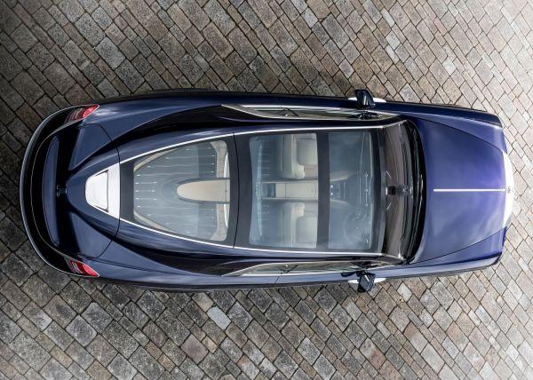 Rolls-Royce Sweptail 2017, вид сверху
