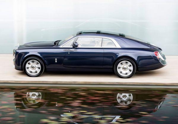 Самый дорогой в мире автомобиль Rolls-Royce Sweptail 2017