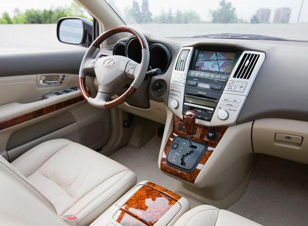 Интерьер Lexus RX350