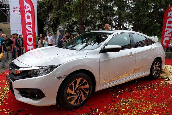 Новая Honda Civic десятого поколения