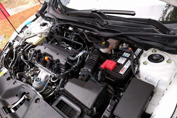 Двигатель нового седана