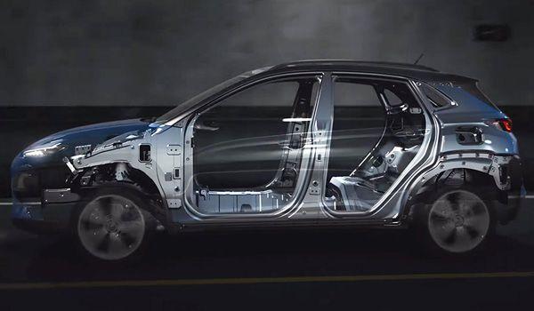 Безопаность кроссовера Hyundai Kona