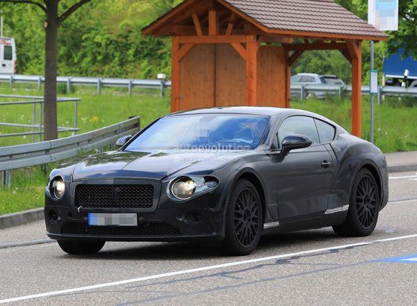 Обновленный Bentley Continental GT 2018