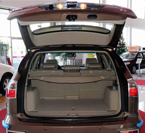 Багажник китайского кроссовера BYD S6