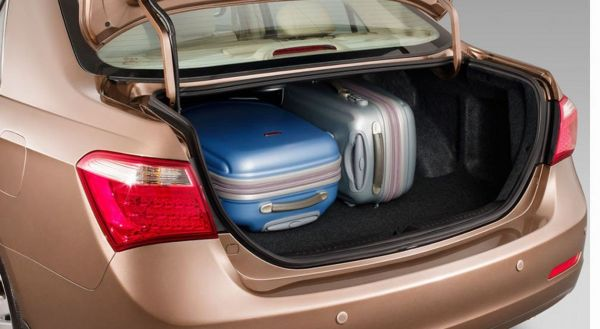 Багажник седана BYD F7