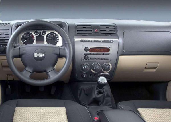 Передняя панель Hummer H3 2006