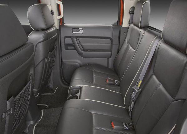 Задние сиденья Hummer H3T Alpha 2009