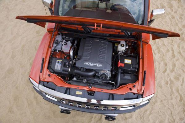 Двигатель Hummer H3