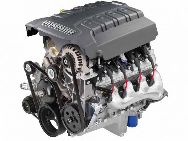 Двигатель внедорожника Hummer