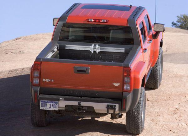 Кузов пикапа Hummer H3T Alpha