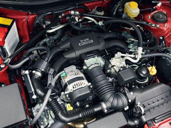 Toyota GT86 2017, двигатель