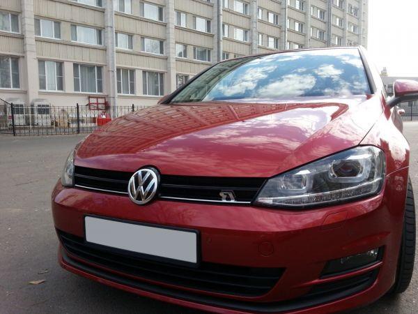Volkswagen Golf и жидкое стекло Silane Guard