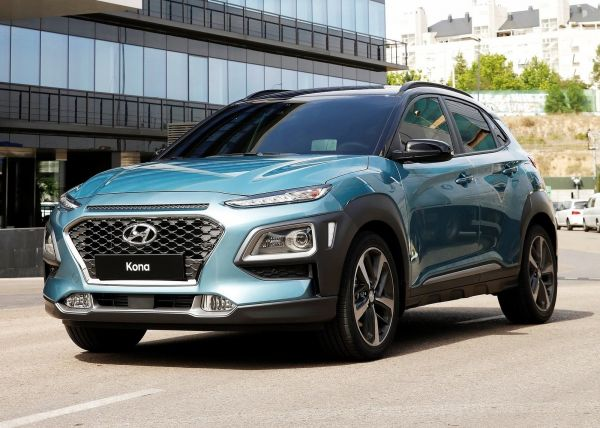 Стильный и спортивный дизайн Hyundai Kona
