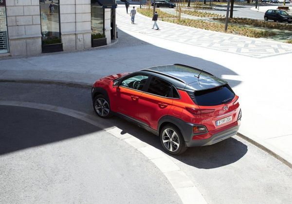 Крыша кроссовера Hyundai Kona