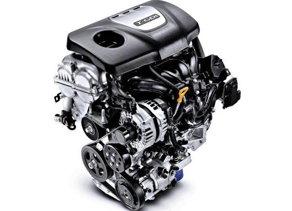 Трехцилиндровый двигатель кроссовера Hyundai Kona
