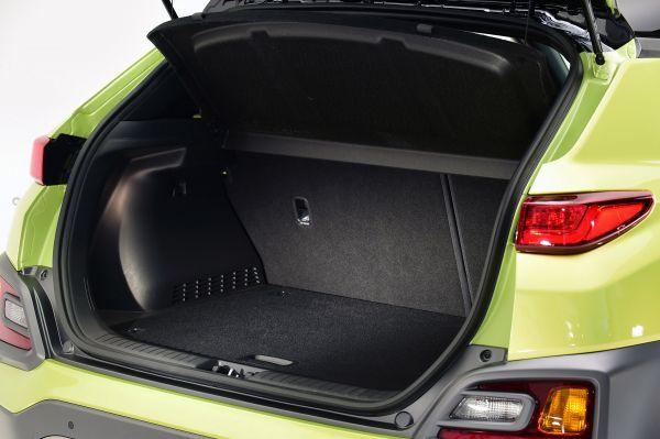 Багажник новой Hyundai Kona