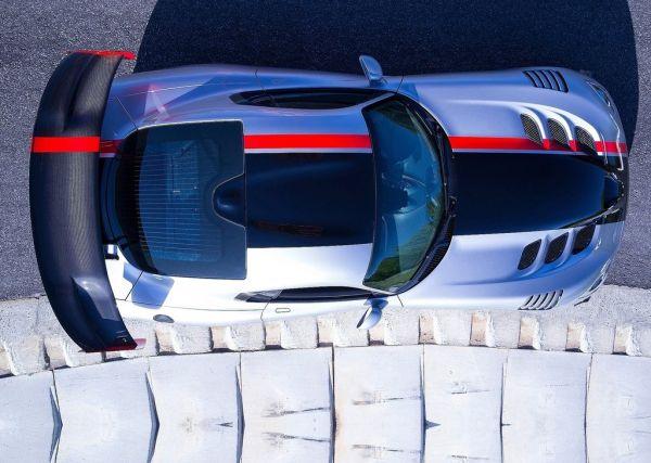 Крыша обновленного Dodge Viper 2017