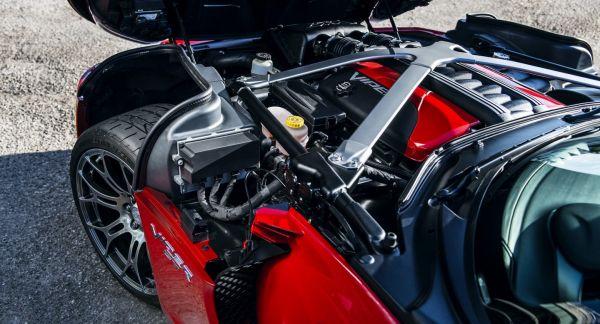Двигатель обновленного Dodge Viper 2017