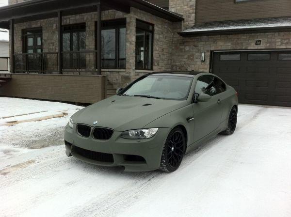 BMW 3-Series в жидкой резине