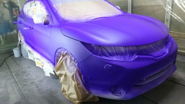 Покрытие автомобиля жидкой резиной Plasti Dip