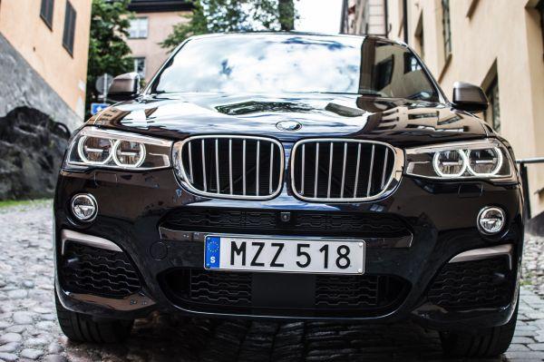 Кроссовер BMW X4 2017
