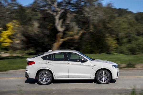 BMW X4 2017, вид сбоку