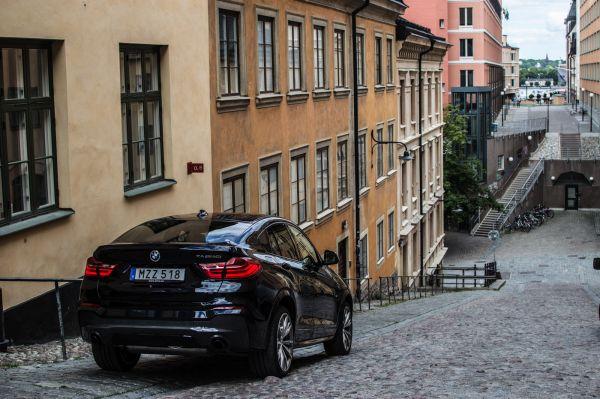 Заряженный BMW X4 M40i 2017